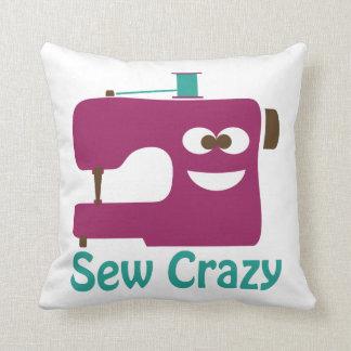 Sew Crazy Cushion