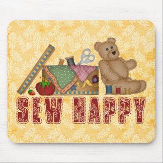 Sew Happy Mouse Pad