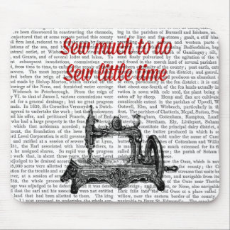 Sew Little Time Illustration Mouse Mat
