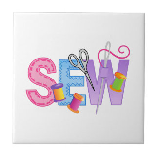 SEW MONTAGE SMALL SQUARE TILE