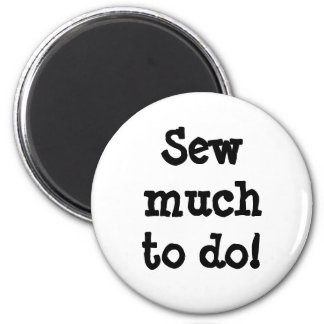 Sew much to do refrigerator magnets