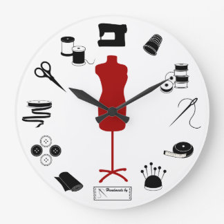 Sew Right Large Clock