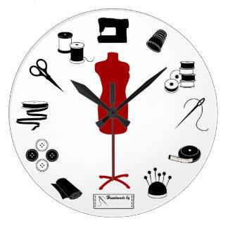 Sew Right Wall Clocks