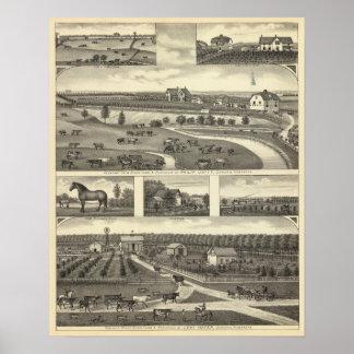 Seward Farms, Nebraska Poster