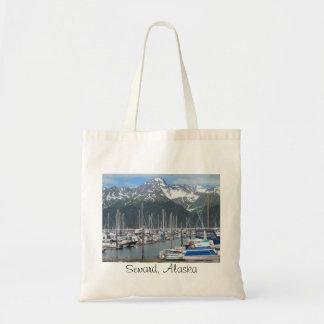 Seward Harbor, Alaska Tote Bag