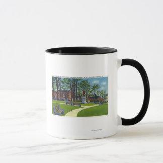 Seward Park Memorial Monument View of YMCA Mug