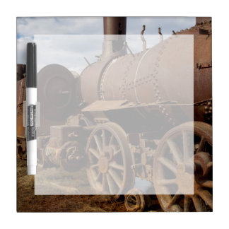 Seward Peninsula, Alaska, Train to Nowhere Dry Erase Board