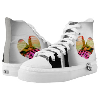Sewer Love Printed Shoes
