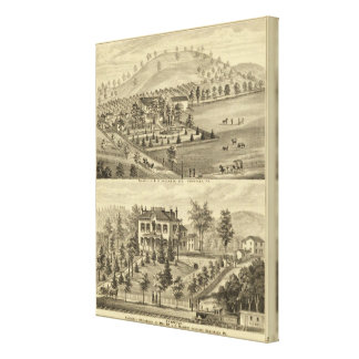 Sewickley Pennsylvania Canvas Print