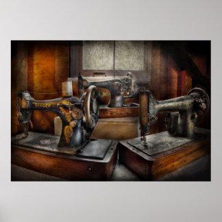Sewing - A Chorus of Three Poster