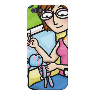 Sewing a sock doll iPhone 5 cases