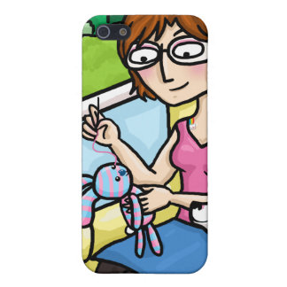 Sewing a sock doll iPhone 5 covers