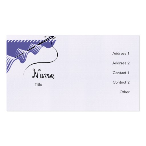 Collections of sew business cards page5 sewing business card templates colourmoves