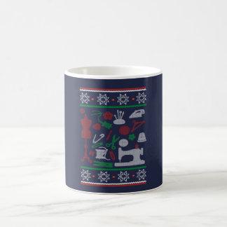 Sewing Christmas Coffee Mug