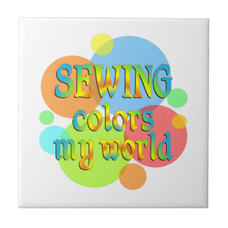 Sewing Colors My World Tiles