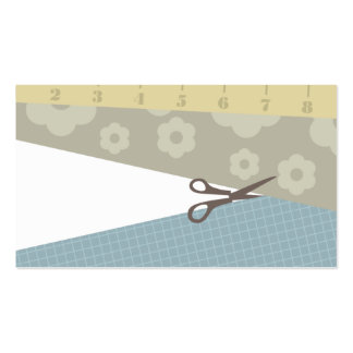 sewing crafts scissors measuring tape business car pack of standard business cards