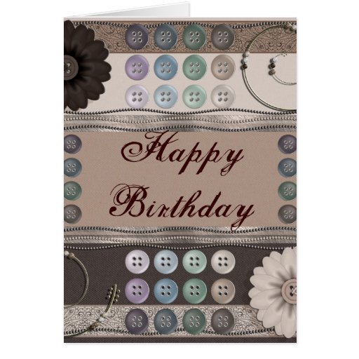 Sewing Enthusiast Greeting Cards