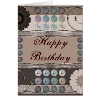 Sewing Enthusiast Greeting Card