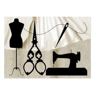Sewing Fashion Seamstress - SRF Business Card Template