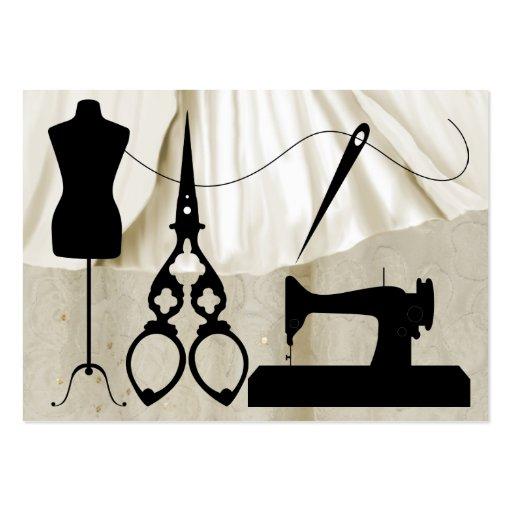 Sewing / Fashion / Seamstress - SRF Business Card Template