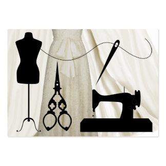 Sewing Fashion Seamstress - SRF Business Card Templates
