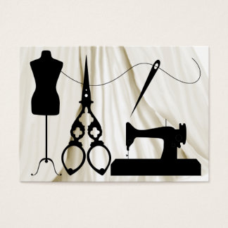 Sewing / Fashion / Seamstress - SRF Business Card