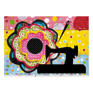 Sewing / Handmade By - Business / Enclosure Card Large Business Cards (Pack Of 100)
