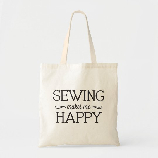 Sewing Happy Bag - Assorted Styles & Colours
