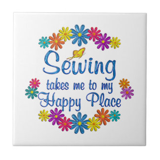 Sewing Happy Place Tiles