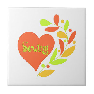 Sewing Heart Tile
