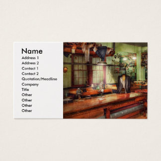 Sewing - Industrial - The sweat shop Business Card