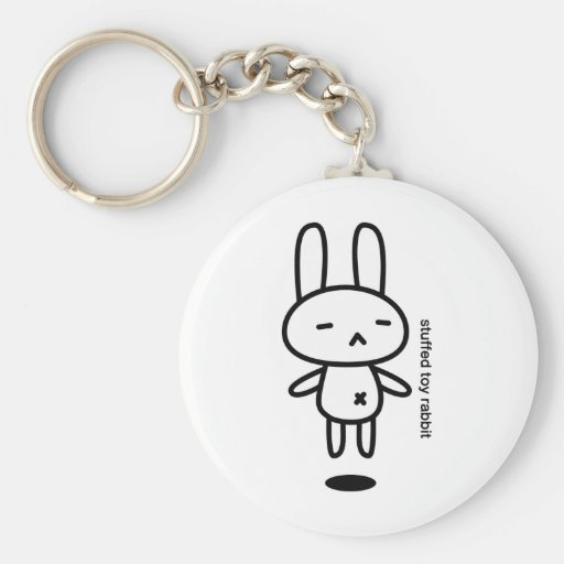 Sewing involving the rabbit/floating key chain