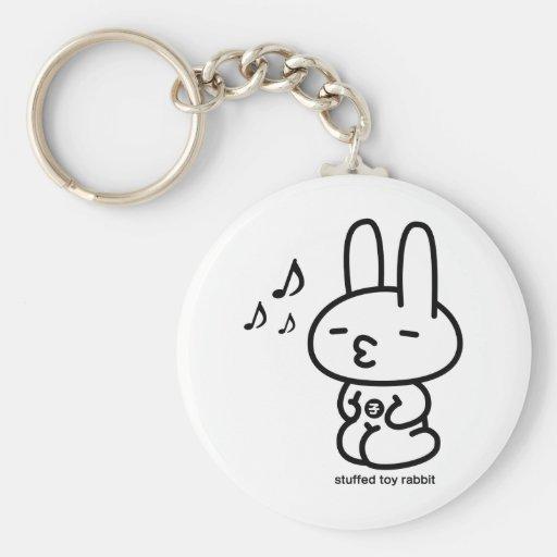 Sewing involving the rabbit/runrun feeling keychain