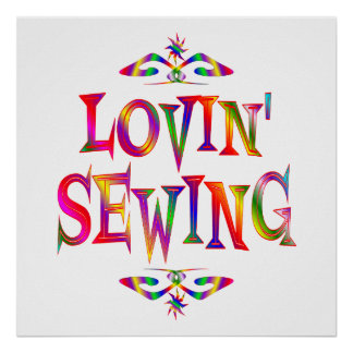 Sewing Lover Poster
