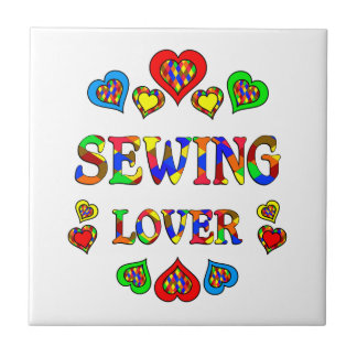 Sewing Lover Ceramic Tiles