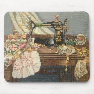 Sewing Machine and Dress Mouse Mat