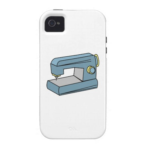 Sewing Machine Case-Mate iPhone 4 Cover