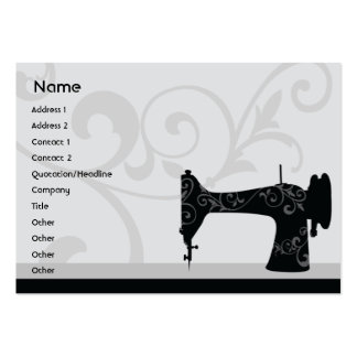 Sewing Machine - Chubby Business Card