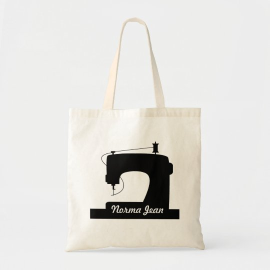 Sewing Machine Crafts - Your Name Tote Bag