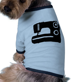 Sewing machine dog clothes