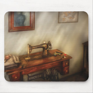 Sewing Machine - Sewing in a cozy room Mouse Mat