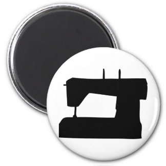 sewing machine silhouette magnet