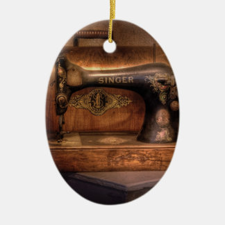 Sewing Machine  - Singer Christmas Ornament