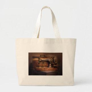 Sewing Machine  - Singer Large Tote Bag