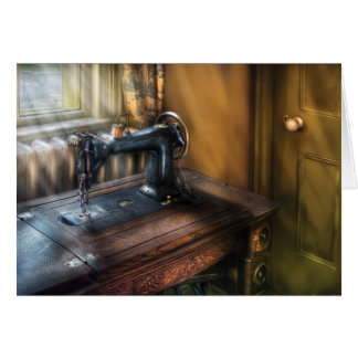Sewing Machine  - The Sewing Machine Greeting Card