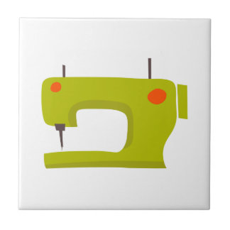 SEWING MACHINE SMALL SQUARE TILE