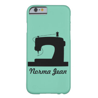 Sewing Machine / Your Text {Light} Barely There iPhone 6 Case