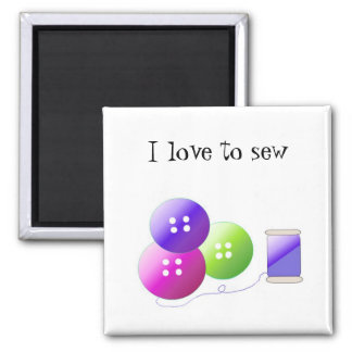Sewing Notions Refrigerator Magnets