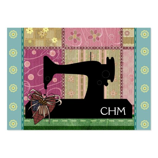 Sewing / Quilting Card - SRF Business Card Templates