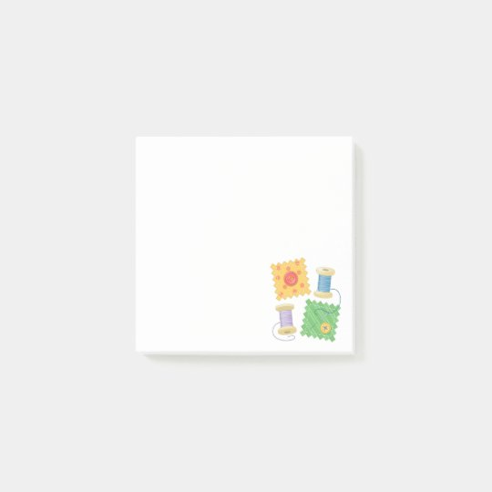 Sewing Quilting Craft Hobby Post-it Notes